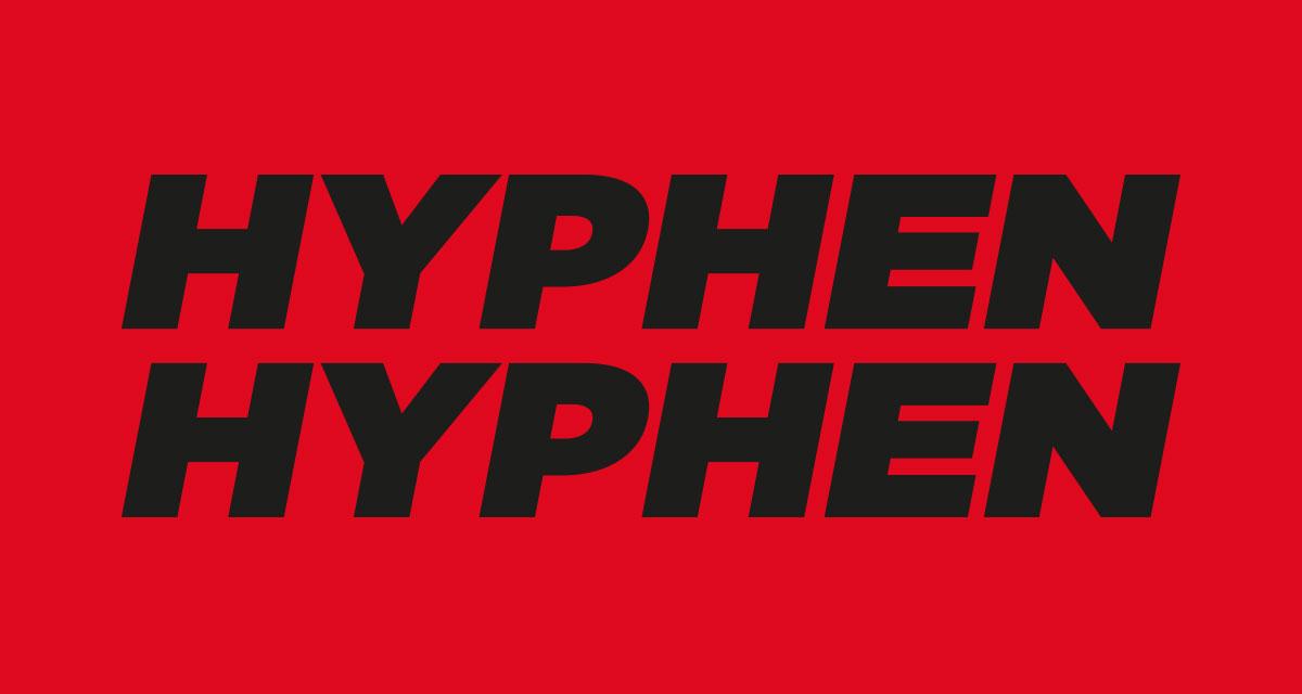 Hyphen Hyphen logo